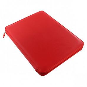 Portablocco Metropol con zip Filofax A4 320x245x26 mm rosso L840013