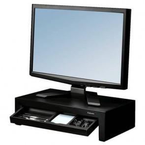 Supporto monitor Designer Suites Fellowes nero 8038101