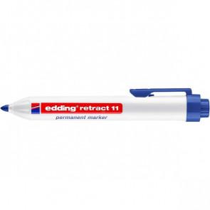 Marcatore a scatto e-11 Edding tonda 1,5-3 mm blu 4-11003