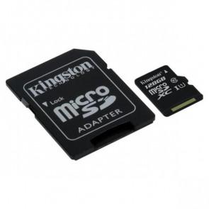 KINGSTON 128GB MICROSDXC CLASS 10 UHS-I ADAP
