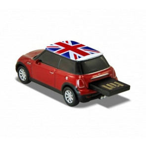 REDLINE USB MINI COOPER S RED 16 GB