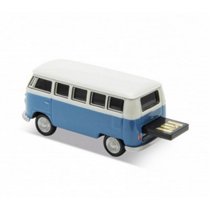 REDLINE USB VOLKSWAGEN T1 BUS BLUE 16GB