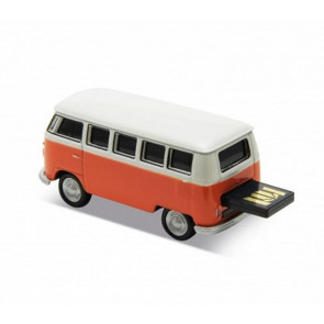 REDLINE USB VOLKSWAGEN T1 BUS ORANGE 16 GB
