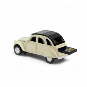 REDLINE USB CITROEN 2 CV WHITE 16 GB
