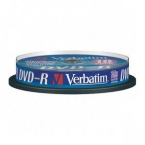 DVD Verbatim  DVD-R 4,7 Gb 16x Spindle 43523 (conf.10)