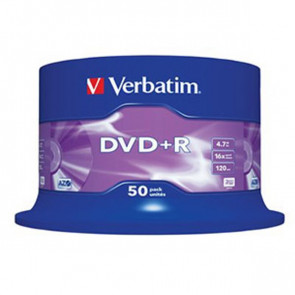 DVD Verbatim  DVD+R 4,7 Gb 16x Spindle 43500 (conf.25)