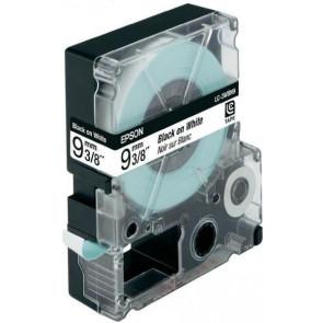 Nastro per etichettatrice LC Epson 9 mm x 9 m nero/bianco C53S624402