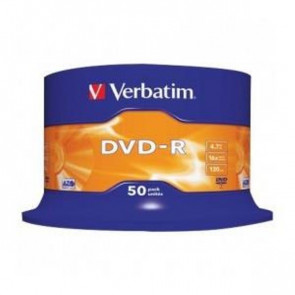 DVD Verbatim  DVD-R 4,7 Gb 16x Spindle 43548 (conf.50)