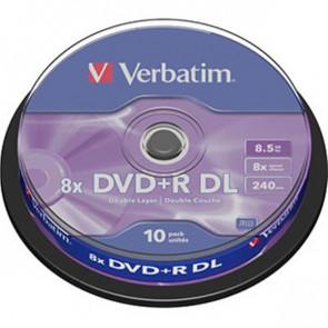DVD Verbatim  DVD+R 8,5 Gb 8x DL Spindle 43666 (conf.10)