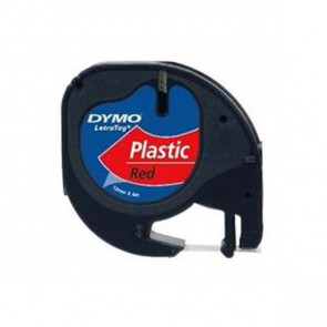 Nastri Letratag Dymo plastica rosso S0721630