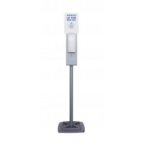 Colonna Con Dispenser Automatico E Piantana - Acciao Verniciato F572021