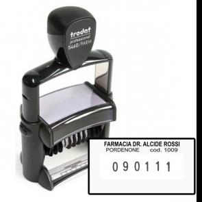 Timbro autoinchiostrante Professional Per Farmacia Trodat 56X33 Mm Tr3181