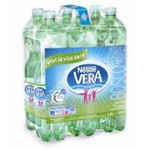 Acqua minerale VERA Frizzante 1,5 L conf. 6 pezzi - 4904672