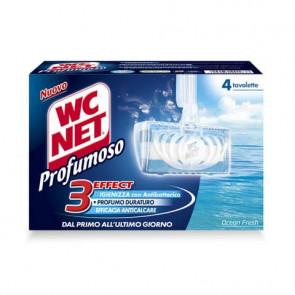 Tavolette igiene WC Net Profumoso ocean fresh 4x34 grammi - M74601