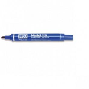 Marcatore professionale permanente Pentel N50 punta conica 4,3 mm blu N50-C