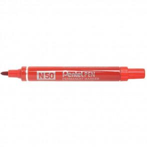 Marcatore professionale permanente Pentel N50 punta conica 4,3 mm rosso N50-B