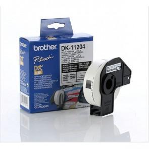 Etichette adesive in carta serie DK Brother 17x54 mm 400 DK11204