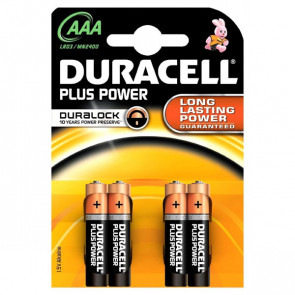 Pile Duracell Plus ministilo AAA 1,5 V MN2400G (conf.4)