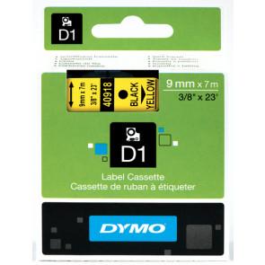 Nastri Dymo D1 9 mm x 7 m nero/giallo S0720730 (ex 40918)