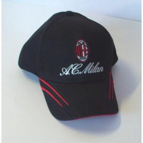 Cappellino baseball colore nero - MILAN