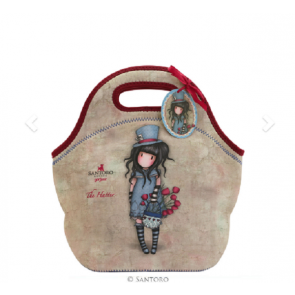 Gorjuss. Lunch bag The Hatter .cm27x18x8