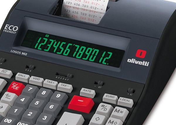 calcolatrice scrivente olivetti