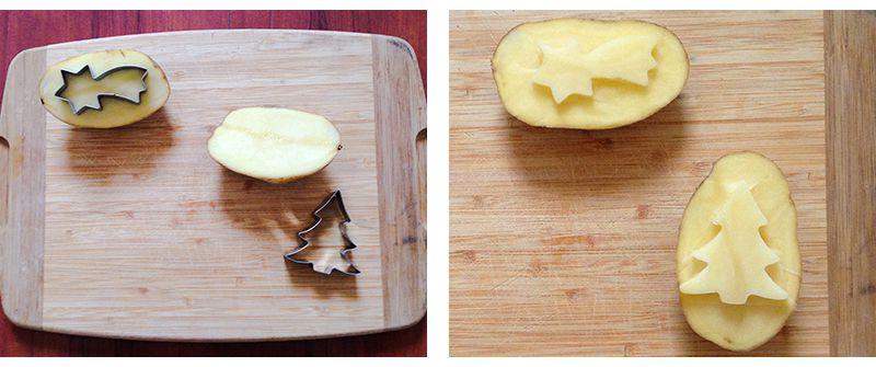 Timbro patata