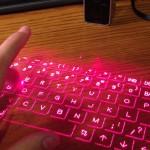 Tastiera laser - una novità che ti facilita la vita