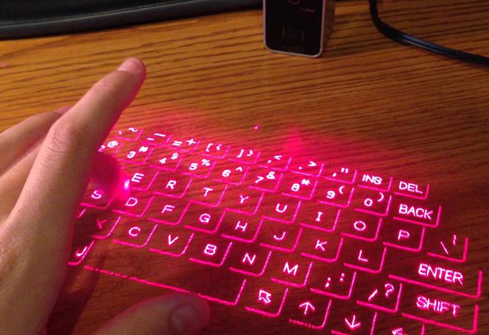 tastiera laser