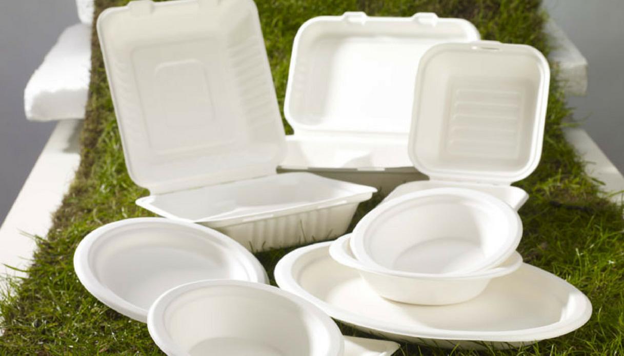 piatti e posate biodegradabili